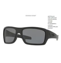 OAKLEY OO9263-07 TURBINE MATTE BLACK  grey polarized Napszemüveg a1f6c3366d