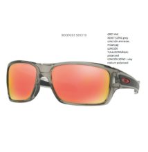 OAKLEY OO9263-10 TURBINE GREY INK ruby iridium polarized Napszemüveg 465592db49