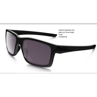 OAKLEY Mainlink Pol Black w/ Prizm Daily Polar OO9264-08