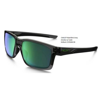 OAKLEY Mainlink Grey Smoke w/ Jade Iridium OO9264-04
