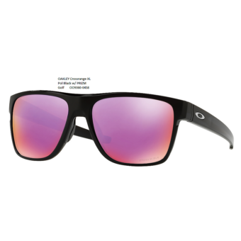 OAKLEY Crossrange XL Pol Black w/ PRIZM Golf 	OO9360-0458