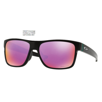 OAKLEY Crossrange Pol Black w/ PRIZM Golf OO9361-0457