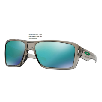OAKLEY Double Edge Grey Ink w/ Jade Irid 	OO9380-0366