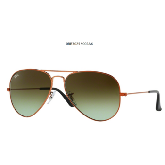 Ray-Ban RB3025 SHINY LIGHT BRONZE 9002A6 Aviator Napszemüveg