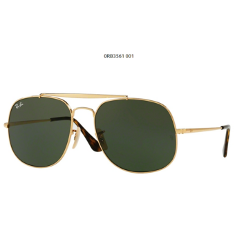 Ray-Ban RB3561 001 GOLD GENERAL Napszemüveg