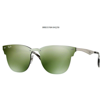 Ray-Ban RB3576N 042 30 BRUSCHED SILVER CLUBMASTER Napszemüveg