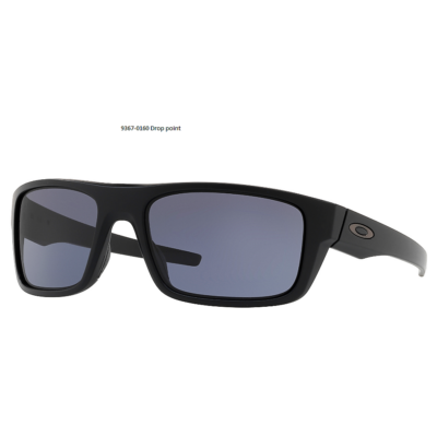 OAKLEY Drop Point MttBlk w/ Grey OO9367-0160