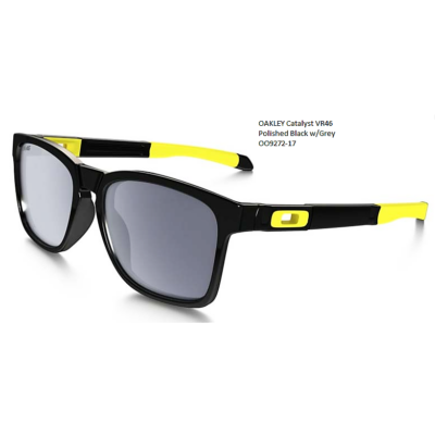 OAKLEY Catalyst VR46 Polished Black w/Grey