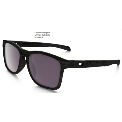 OAKLEY Catalyst Woodgrain w/Prizm Daily Polar OO9272-20