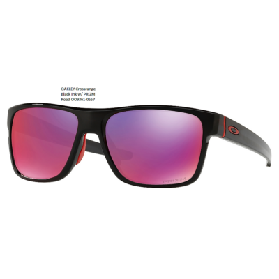 OAKLEY Crossrange Black Ink w/ PRIZM Road 	OO9361-0557