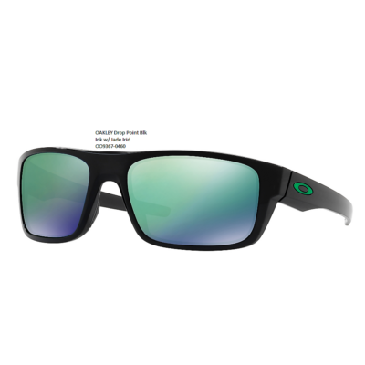 OAKLEY Drop Point Blk Ink w/ Jade Irid OO9367-0460