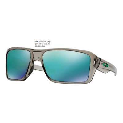 OAKLEY Double Edge Grey Ink w/ Jade Irid 	OO9380-03