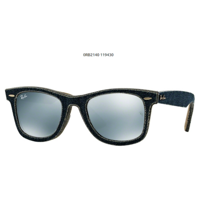 Ray-Ban RB2140 WAYFARER JEANS BLUE/JEANS GREEN BROWN Napszemüveg