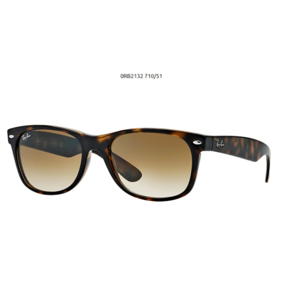 Ray-Ban RB2132 710/51 LIGHT HAVANA New Wayfarer Napszemüveg