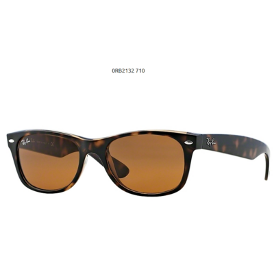 Ray-Ban RB2132 710 LIGHT HAVANA New Wayfarer Napszemüveg