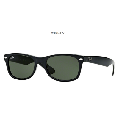 Ray-Ban RB2132 901 BLACK NEW WAYFARER Napszemüveg