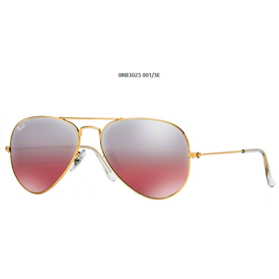 Ray-Ban RB3025  GOLD 001/3E Aviator Napszemüveg