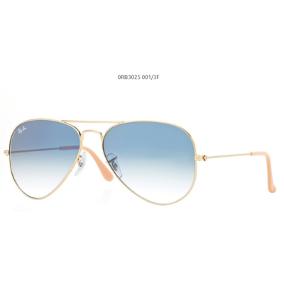 Ray-Ban RB3025 GOLD 001/3F Aviator Napszemüveg