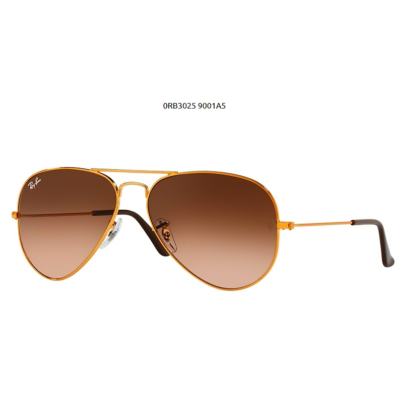 Ray-Ban RB3025 SHINY LIGHT BRONZE 9001A5 Aviator Napszemüveg