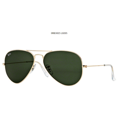 Ray-Ban RB3025 GOLD  L0205 Aviator Napszemüveg
