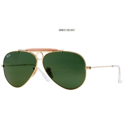 Ray-Ban RB3138 SHOOTER 001 ARISTA Napszemüveg