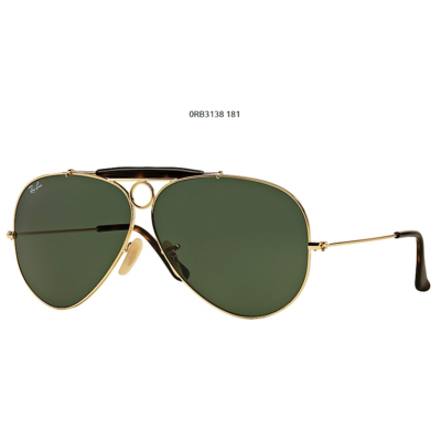 Ray-Ban RB3138 SHOOTER 181 GOLD Napszemüveg
