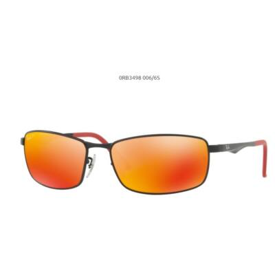 Ray-Ban RB3498 polarizált tükrös napszemüveg