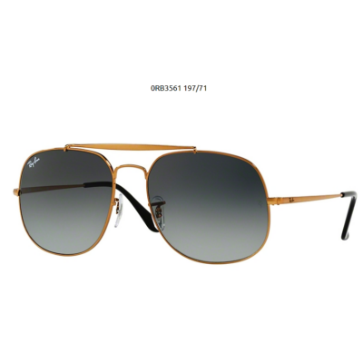 Ray-Ban RB3561 197 71 BRONZE GENERAL  Napszemüveg