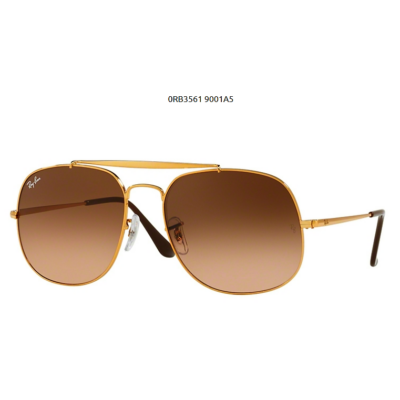 Ray-Ban RB3561 9001 A5 LIGHT BRONZE GENERAL  Napszemüveg
