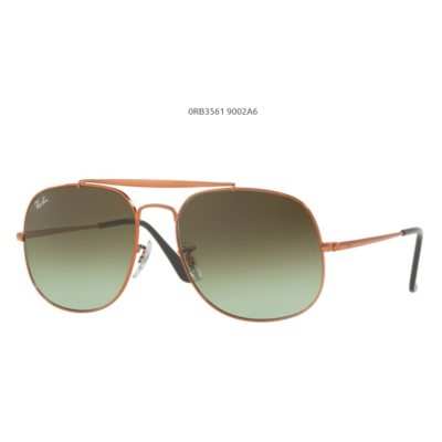 Ray-Ban RB3561 9002 A6 MEDIUM BRONZE GENERAL Napszemüveg