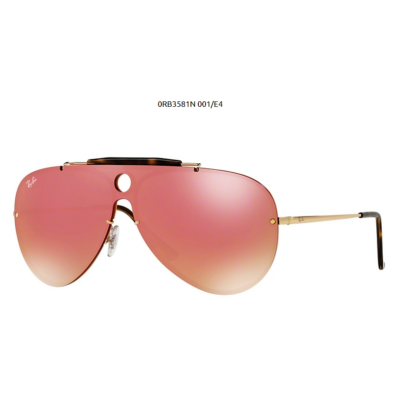 Ray-Ban RB3581N BLAZE SHOOTER 001/ E4 GOLD Napszemüveg