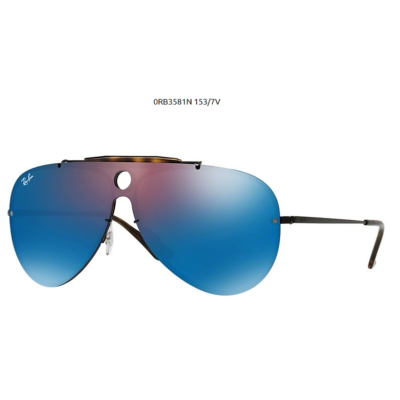 Ray-Ban RB3581N BLAZE SHOOTER 153/7V DEMIGLOSS BLACK Napszemüveg