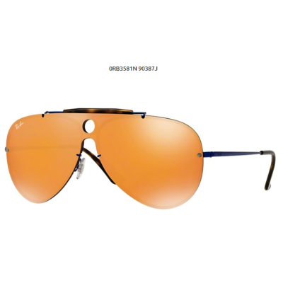 Ray-Ban RB3581N BLAZE SHOOTER 90387J BLUE Napszemüveg