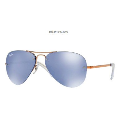 Ray-Ban RB3449 90351U COPPER Napszemüveg