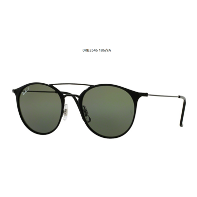 Ray-Ban RB3546 186/9A BLACK TOP MATTE BLACK Napszemüveg