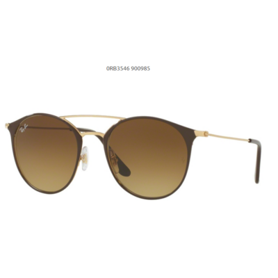 Ray-Ban RB3546 900985 GOLD TOP BROWN Napszemüveg