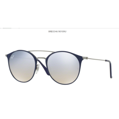Ray-Ban RB3546 90109U GUNMETAL TOP BLUE Napszemüveg