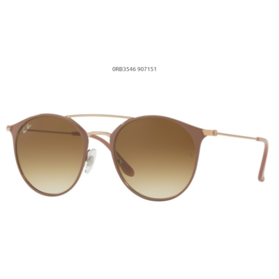 Ray-Ban RB3546 907151 COPPER TOP ON BEIGE Napszemüveg