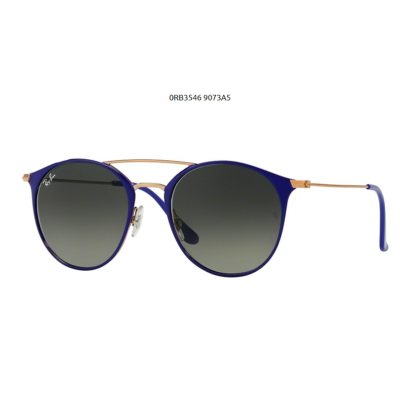 Ray-Ban RB3546 9073A5 COPPER ON TOP VIOLET Napszemüveg