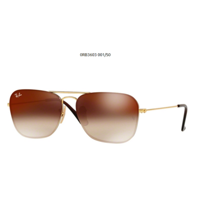 Ray-Ban RB3603 001SO GOLD Napszemüveg