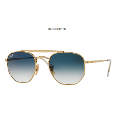 Ray-Ban RB3648 THE MARSHAL 001/3F GOLD Napszemüveg
