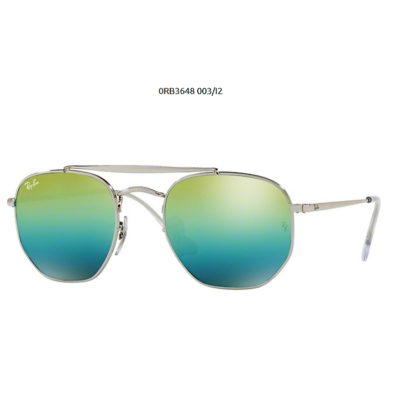 Ray-Ban RB3648 THE MARSHAL 003/12 SILVER Napszemüveg