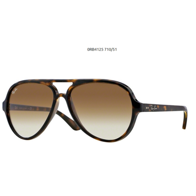 Ray-Ban RB4125 CATS 5000 710 51 LIGHT HAVANA Napszemüveg