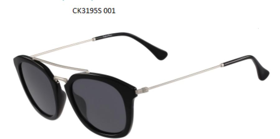Image of Calvin Klein CK3195 S 001 Napszemüveg