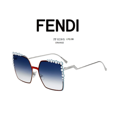 FENDI FF0259/S LQ7 08 ORANGE Napszemüveg