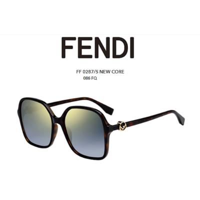 FENDI FF0287/S 086 FQ DARK HAVANA Napszemüveg