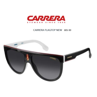 Carrera FLAGTOP 80S 9O Black White Napszemüveg