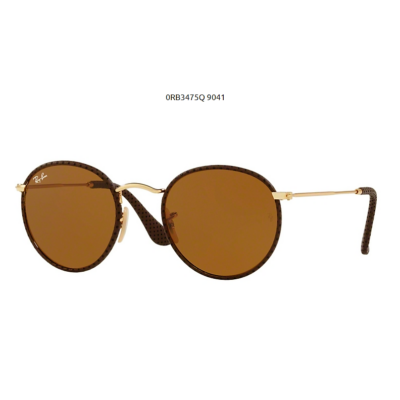 Ray-Ban RB3475Q 9041 LEATHER BROWN Napszemüveg