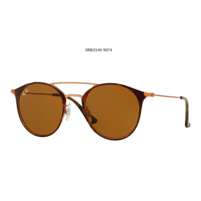 Ray-Ban RB3546 9074 COPPER ON TOP HAVANA Napszemüveg