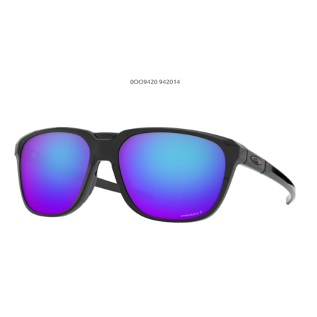 OAKLEY ANORAK POLISHED BLACK/ prizm sapphr iridium polarized OO9420-14 Napszemüveg